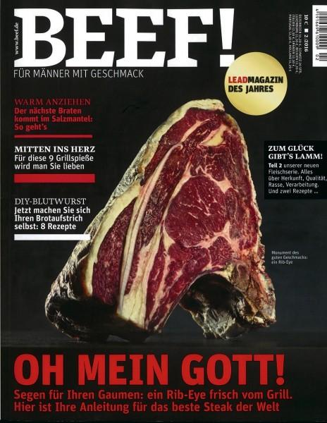 BEEF! Magazin 1-Jahresabo