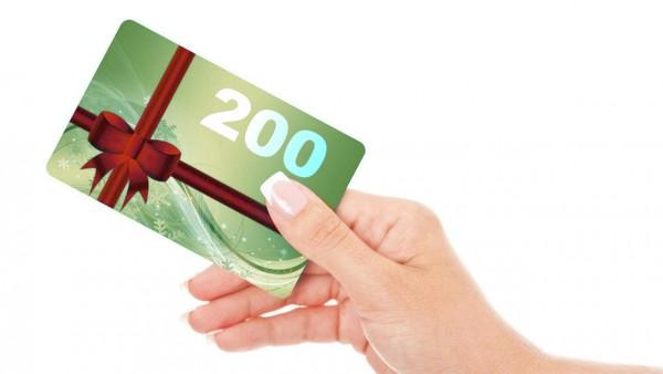 Geschenkgutschein 200CHF